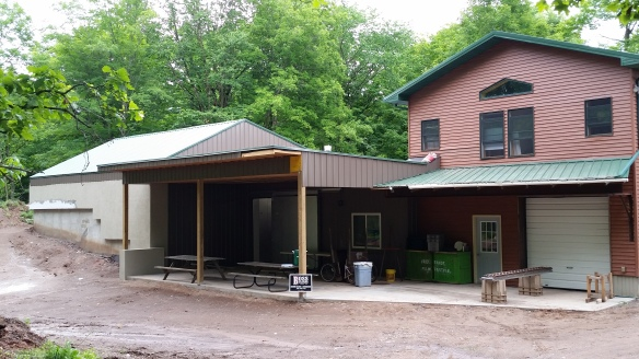 Basic construction is nearly over, now we just need back fill, ventilation, and refrigeration to complete the vision!